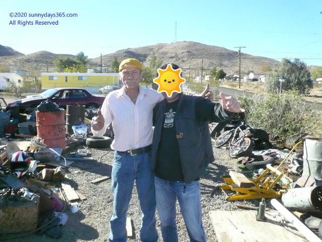 廃坑からお宝を見つけるエクスプローラーを仕事にしているロッキーさん紹介