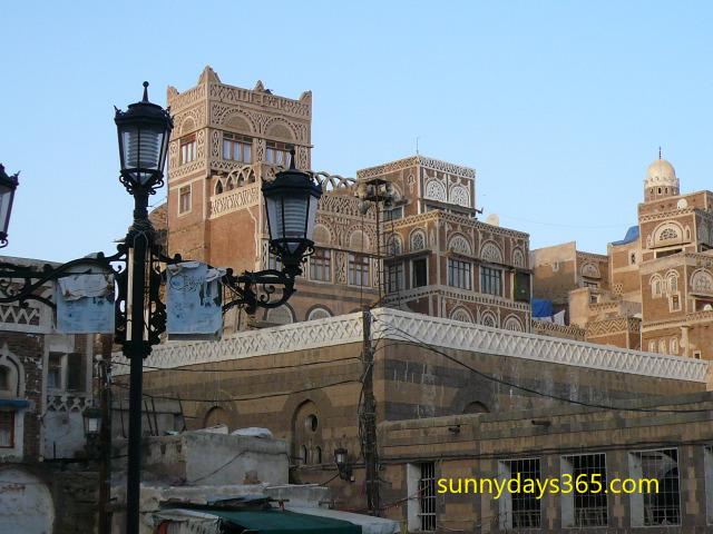 漆喰の建物群