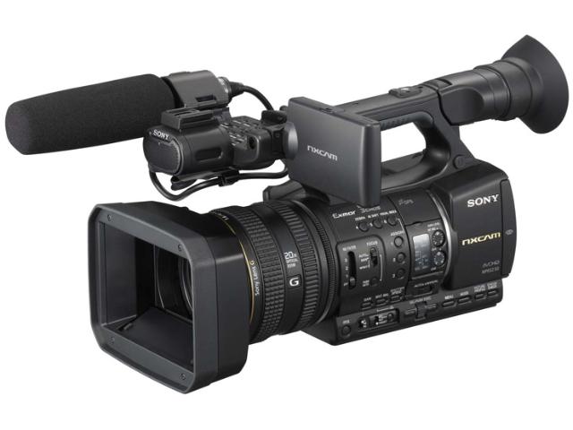 ハイエンドビデオカメラの代表格、SONY-NX5R商品画像