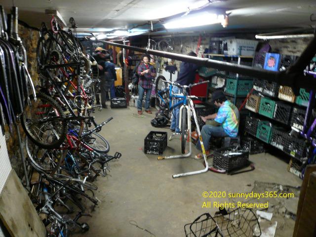 自転車リサイクル店