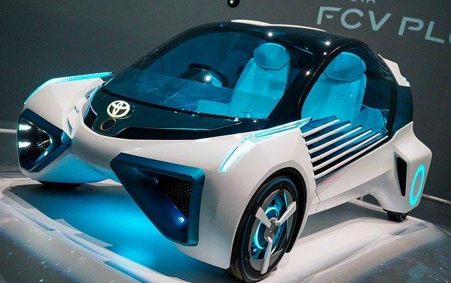 トヨタの近未来自動車