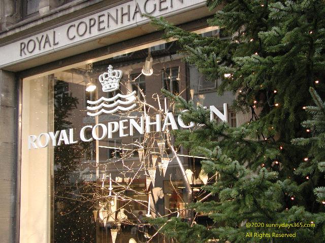 ロイヤルコペンハーゲン本店の外観