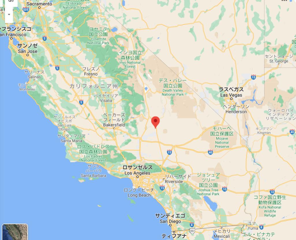 ランズバーグのある場所を地図で表記