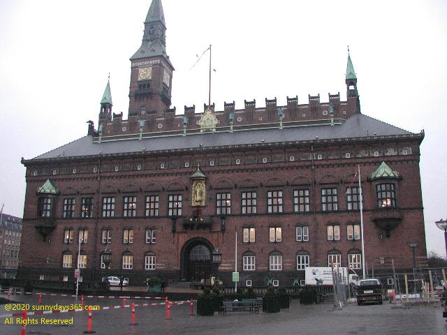 コペンハーゲン市役所全景