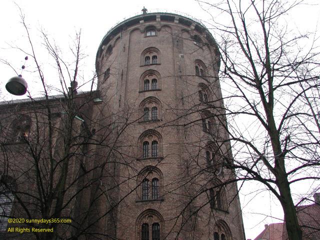 コペンハーゲン市内ラウンドタワー